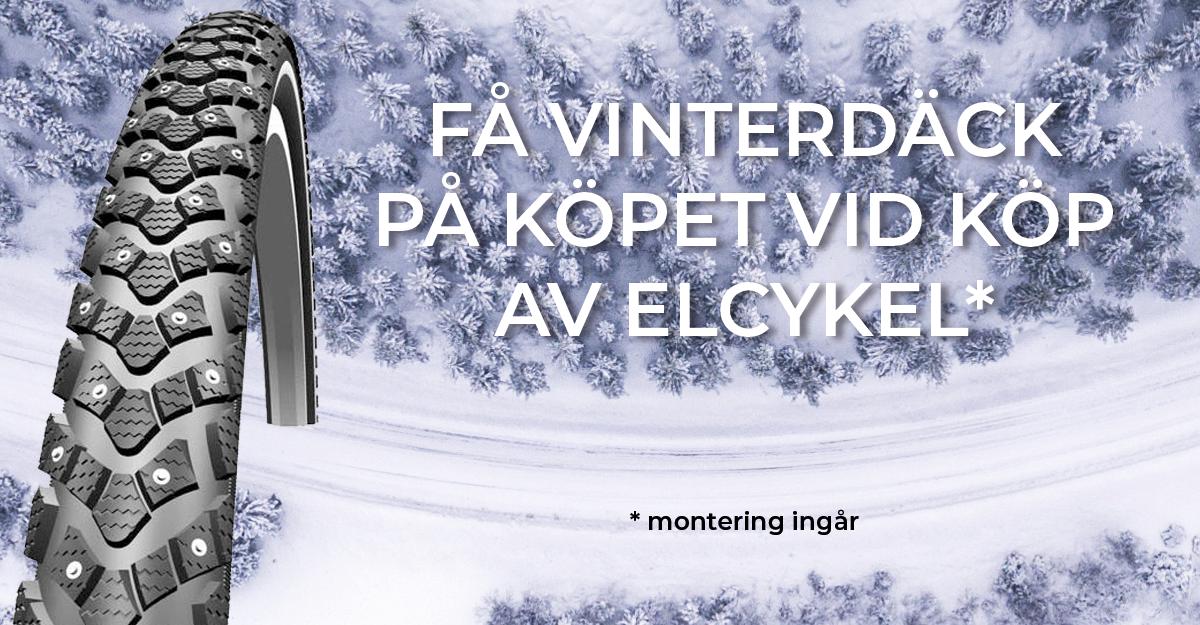 Vinterdäck till Elcykeln