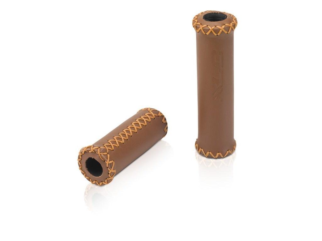 Handtag Xlc Gr-g17 128/92mm Brun Läder