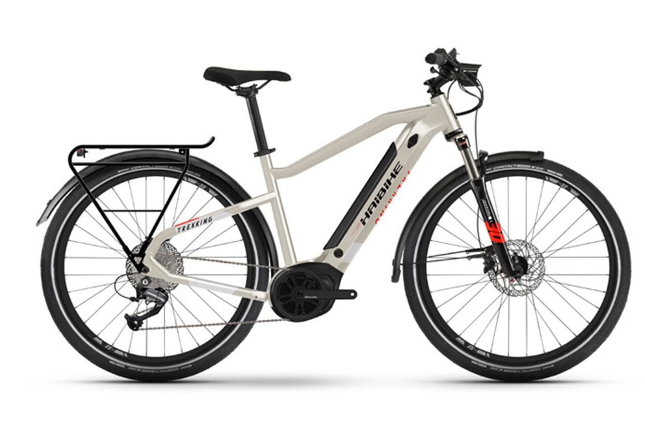 Haibike Trekking 4 Herr 60cm 2021 Elcykel Hybrid