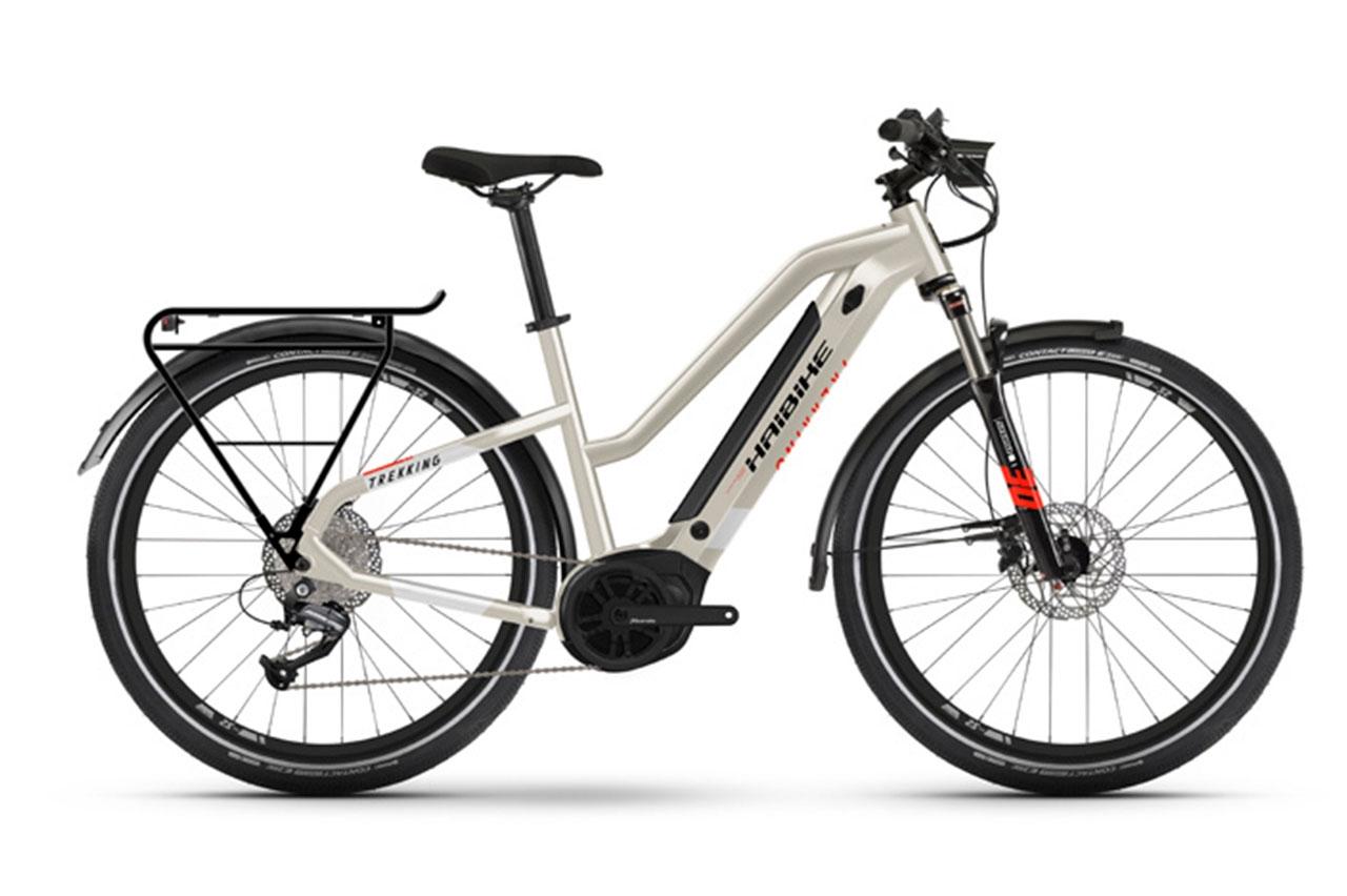 Haibike Trekking 4 Dam 48cm 2021 Elcykel  Hybrid