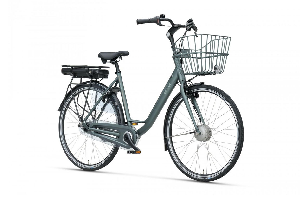 Batavus Torino Grå 48cm 2021 Elcykel Klassisk