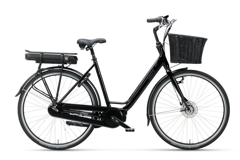 Batavus Napoli Ego 48cm Svart 2021 Elcykel  Klassisk