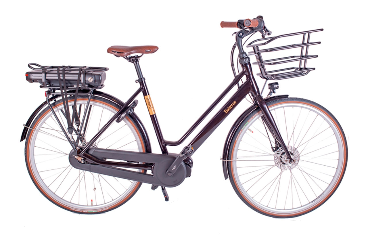Batavus Oxford Ego Svart 48cm 2021 Elcykel  Klassisk