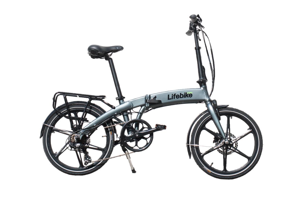 Lifebike C-pact G7 Grå Elcykel Hopfällbar