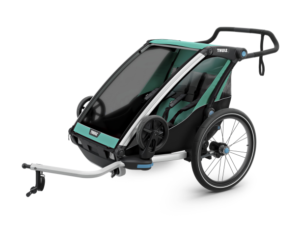 Cykelvagn Thule Chariot Lite 2 Blå/svart 2-barn