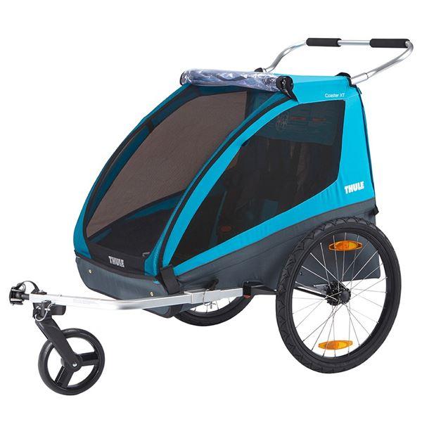 Cykelvagn Thule Coaster Xt Blå 2-barn