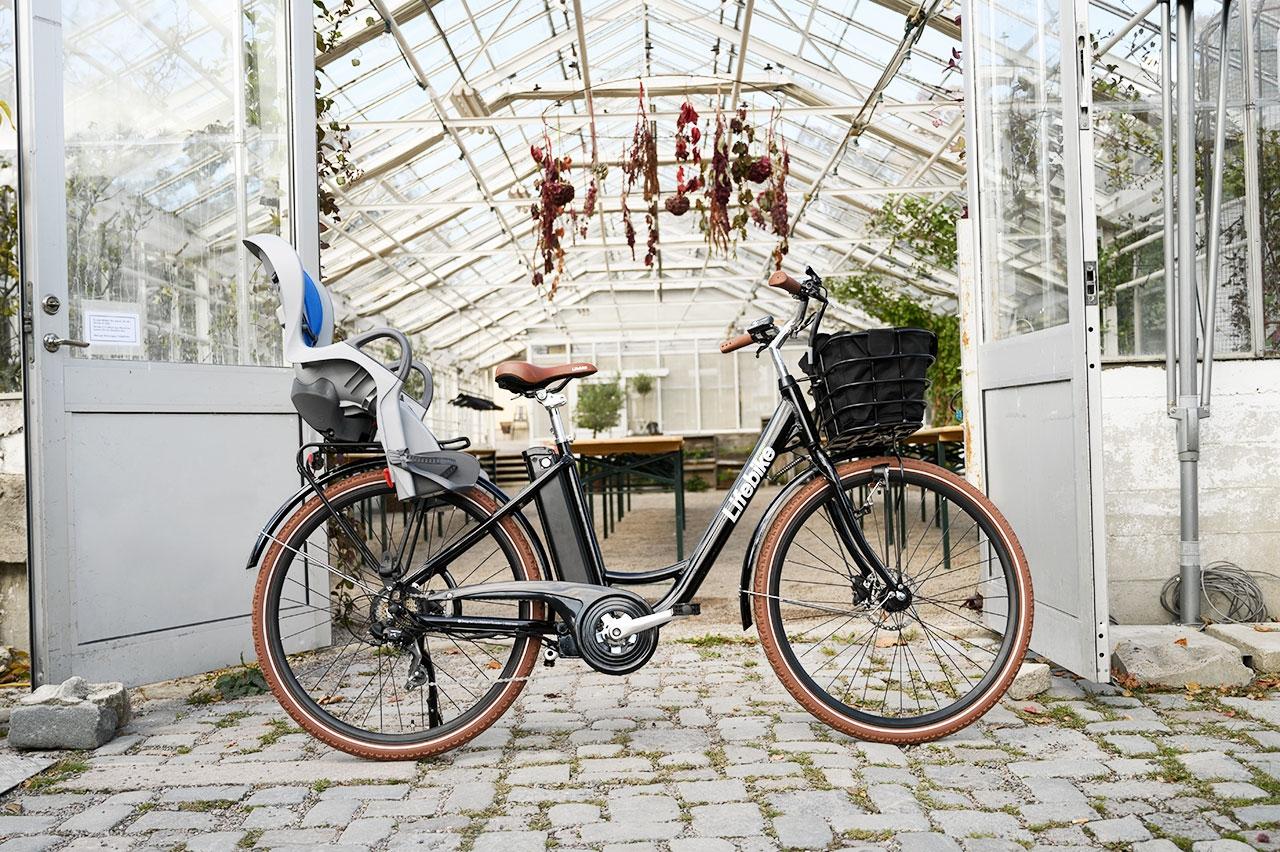Lifebike Comfort G7 Svart Elcykel  Klassisk
