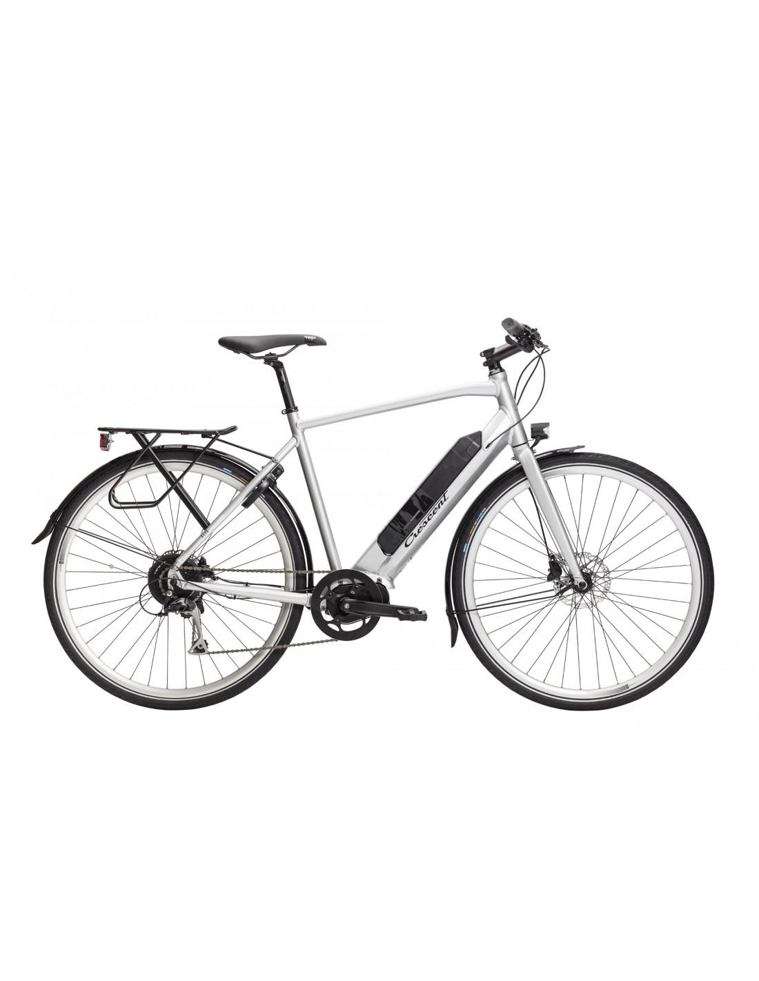 Crescent Elis 9vxl 55cm Silver Elcykel  Hybrid