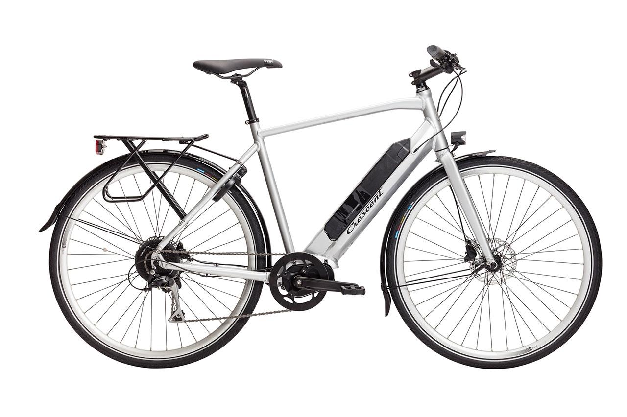 Crescent Elis 9vxl Silver 2021 Elcykel Hybrid