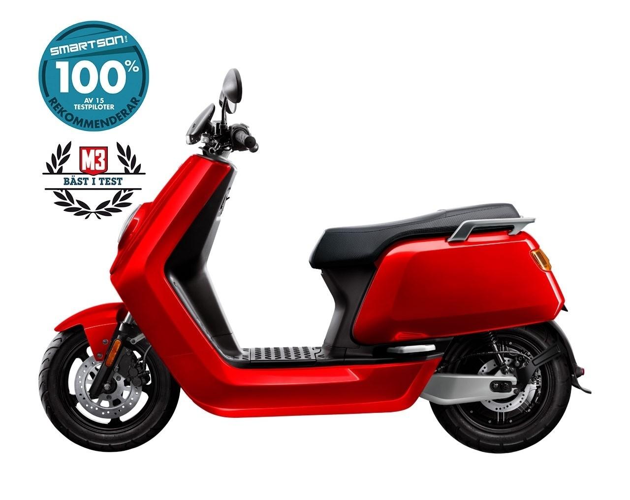 NIU N-Sport 45km/h Röd