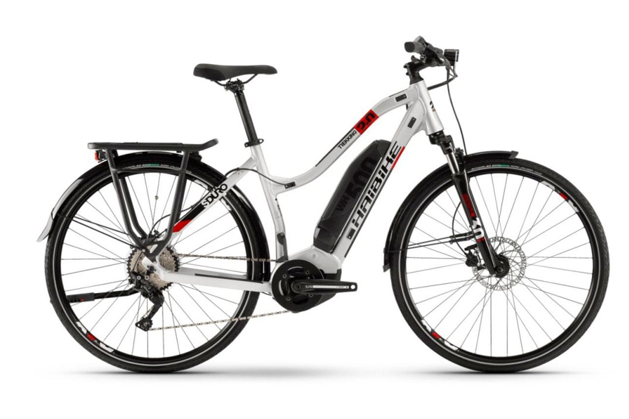 Haibike Sduro Trekking 0 48cm Dam 2020 Elcykel Hybrid