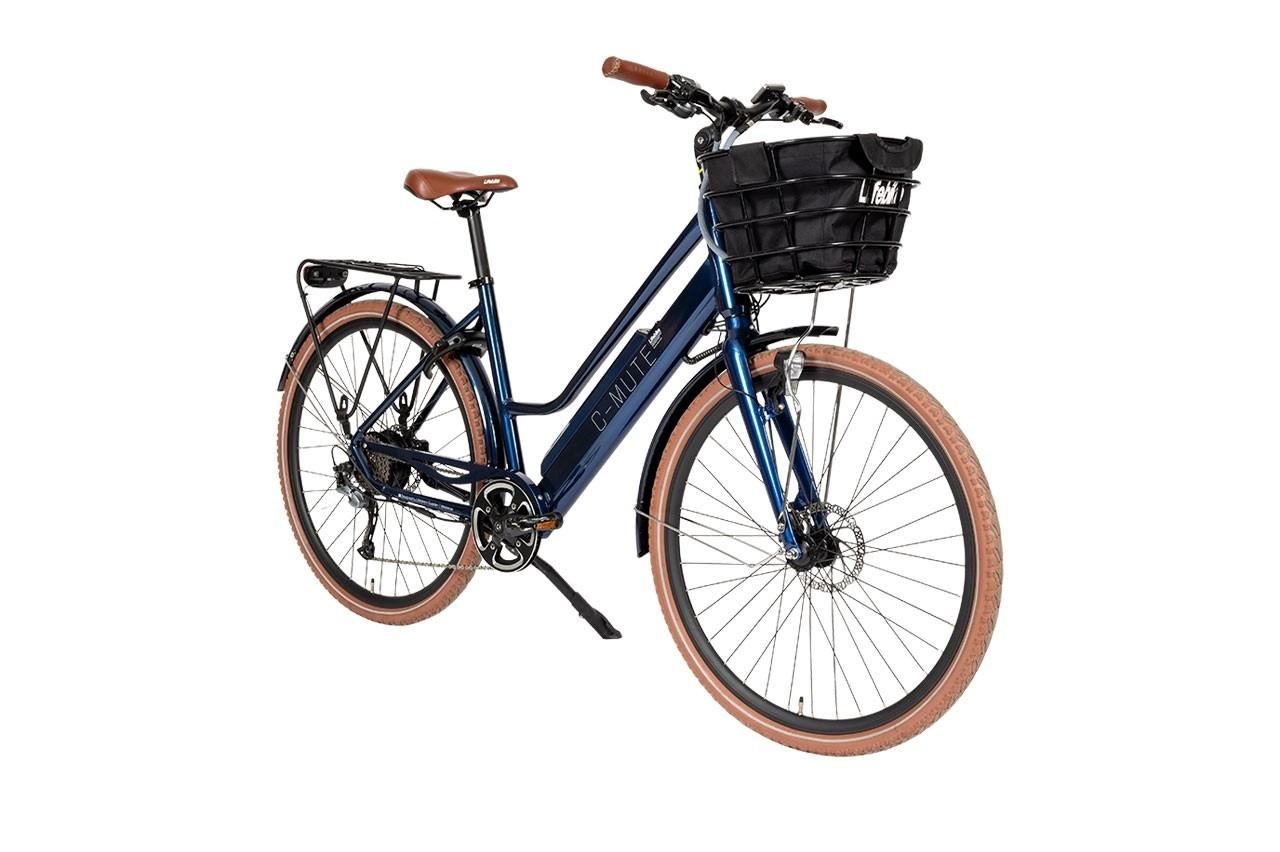 Lifebike C-mute Uni G8 Blå Elcykel  Hybrid