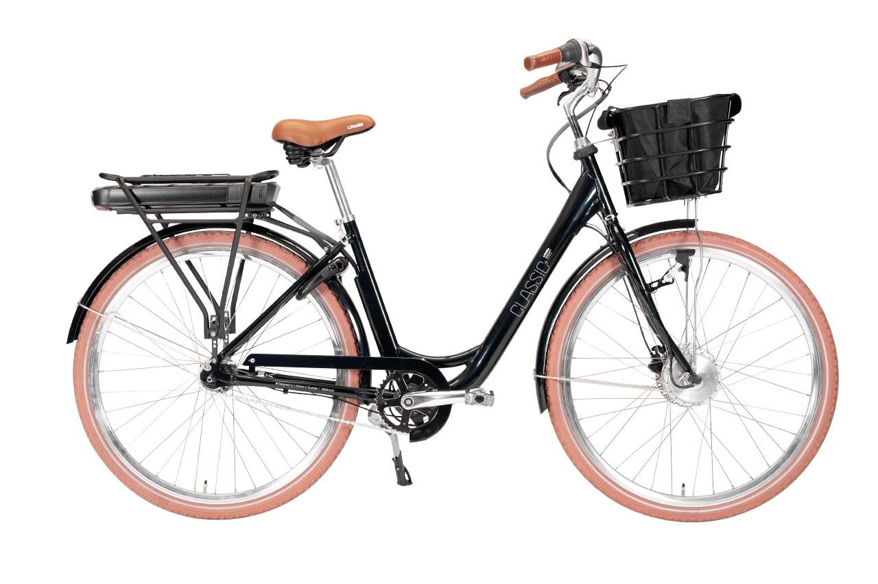 Lifebike Classic + G8 Svart Elcykel Klassisk