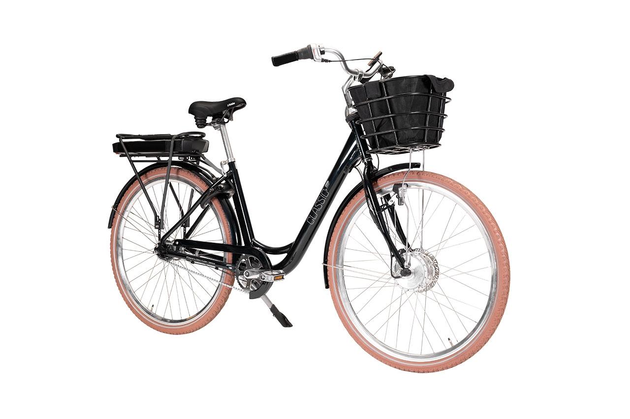 Lifebike Classic+ G8 Svart Elcykel Klassisk