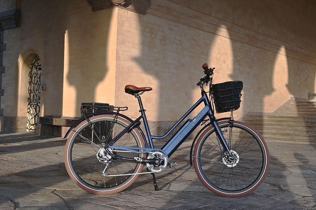 Lifebike C-mute Uni G7 Blå Elcykel  Hybrid
