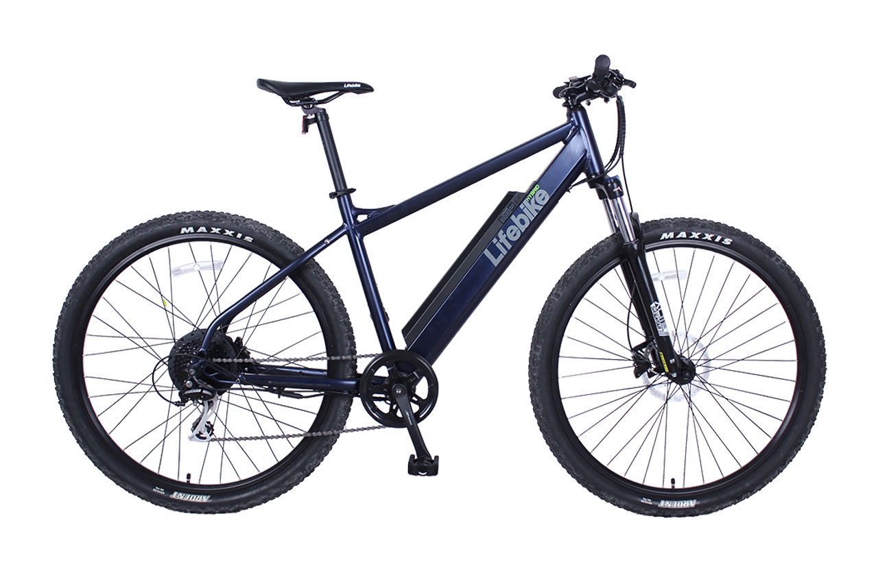 Lifebike Mtb Ht Speed G7 Mattsvart Elcykel Mountainbike