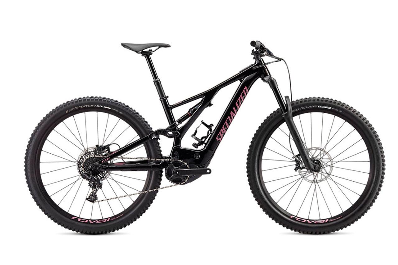 Specialized Turbo Levo Black Lilac L Elcykel Mountainbike