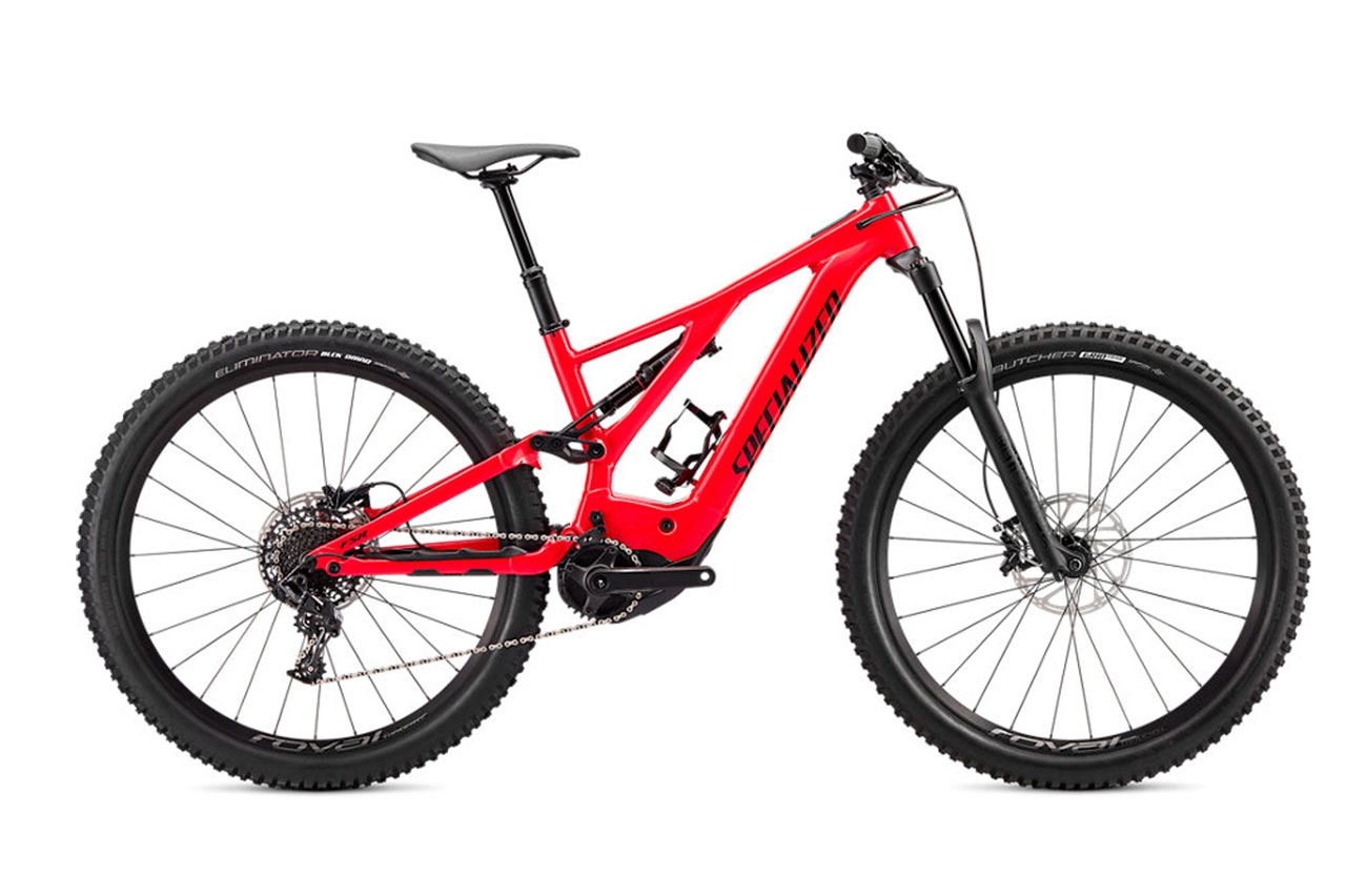 Specialized Turbo Levo Flo Red M Elcykel Mountainbike