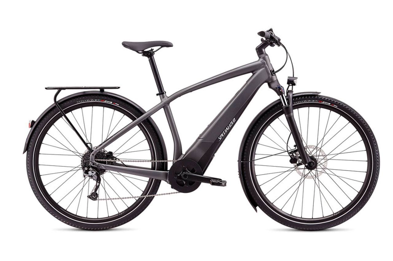 Specialized Turbo Vado 0 Charcoal M Elcykel  Hybrid